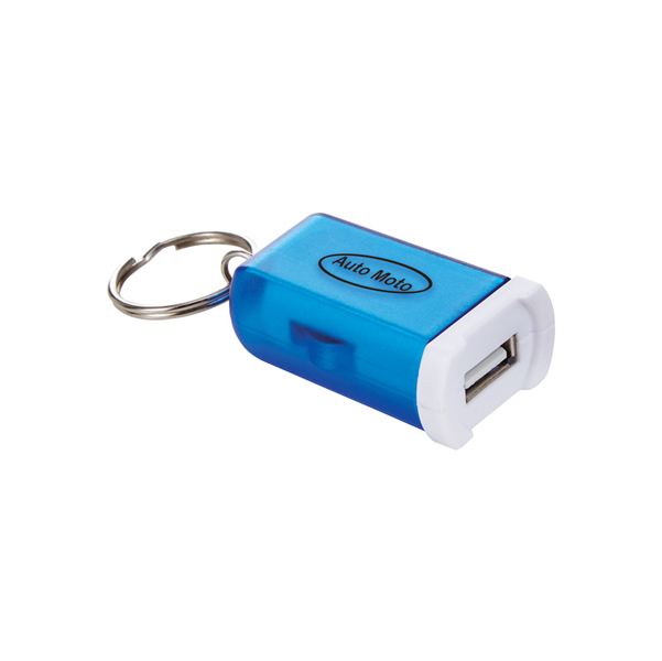 Mini Car Charger Keychain