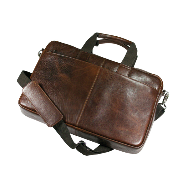 Ashbourne Leather Laptop Bag