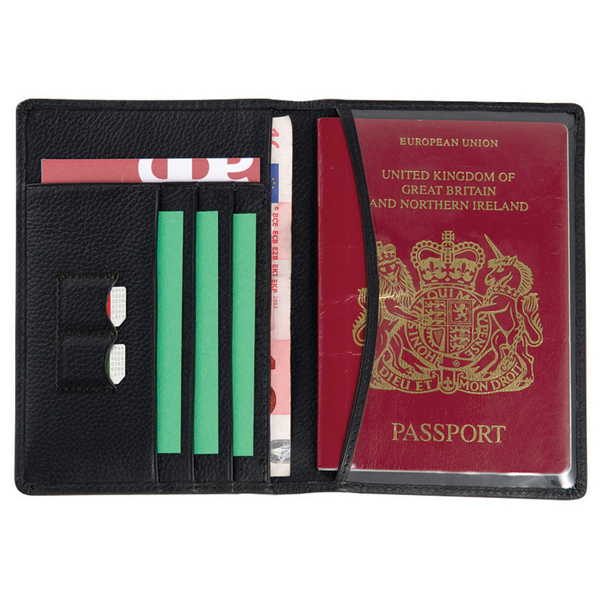Melbourne Leather Passport Wallet