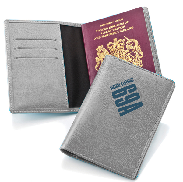 Belluno Leatherette Passport Wallet