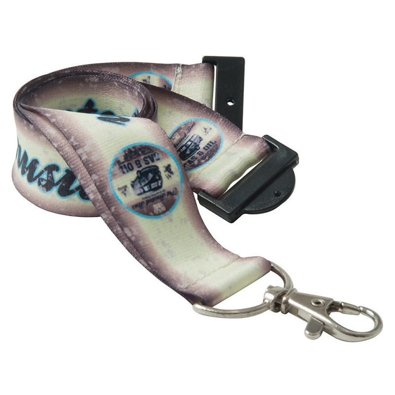 15mm Dye Sublimation Recycled PET Lanyard