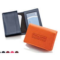 Deluxe Business Card Dispenser Window Pocket
