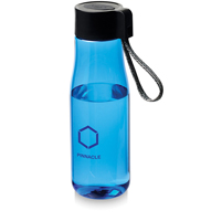 Ara 640 ml Tritan sport bottle with charging cable