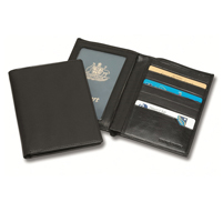 Sandringham Nappa Leather RFID Passport Wallet