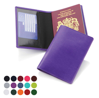 Belluno Leatherette Basic Passport Wallet